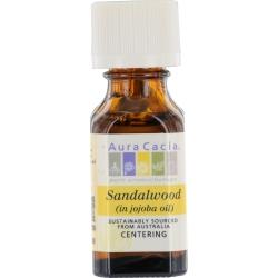 SANDALWOOD IN JOJOBA OIL .5 OZ