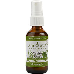 AROMATIC MIST SPRAY 2 OZ. USES THE ESSENTIAL OILS OF PEPPERMINT & EUCALYPTUS TO CREATE A FRAGRANCE THAT IS STIMULATING AND REVITALIZING.