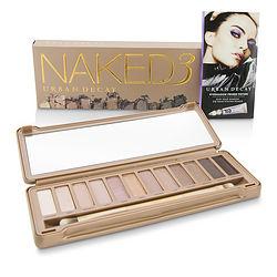 Naked 3 Eyeshadow Palette: 12x Eyeshadow