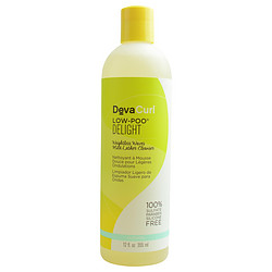 CURL LOW POO DELIGHT WEIGHTLESS WAVES MILD LATHER CLEANSER 12 OZ (PACKAGING MAY VARY)