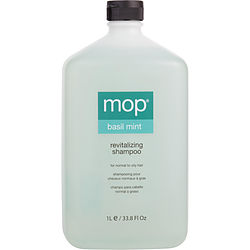 BASIL MINT SHAMPOO FOR NORMAL TO OILY HAIR 33.8 OZ