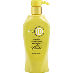 MIRACLE BRIGHTENING SHAMPOO FOR BLONDES 10 OZ