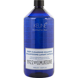 1922 BY J.M. KEUNE DEEP CLEANSING SHAMPOO 33.8 OZ