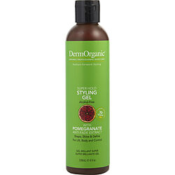 SUPER HOLD STYLING GEL (ALCOHOL FREE) 8 OZ